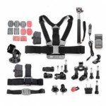 11 In 1 Pro Accessories Kit For GoPro Hero 1/ 2/ 3/ 4/ 3 + Camera